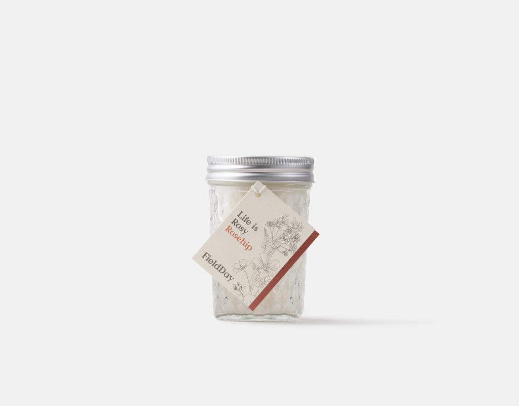 FieldDay Rosehip Jam Jar Candle