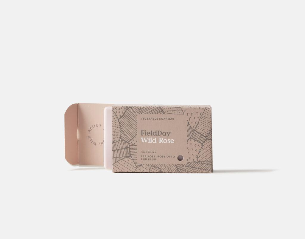 FieldDay Wild Rose Soap Bar
